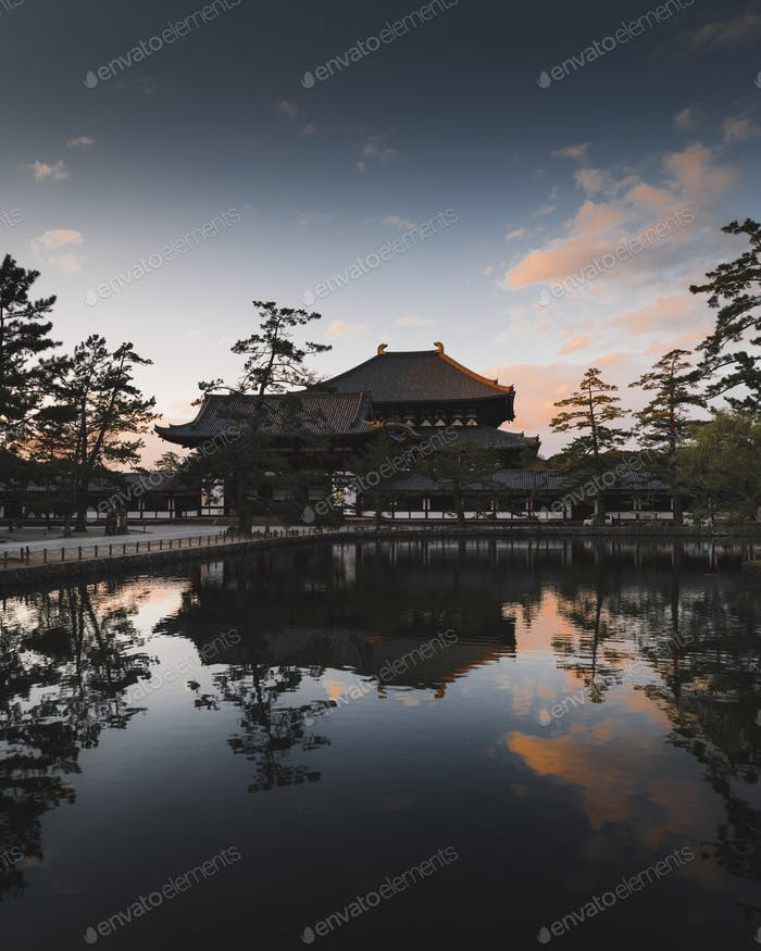 Japanese traditional temple