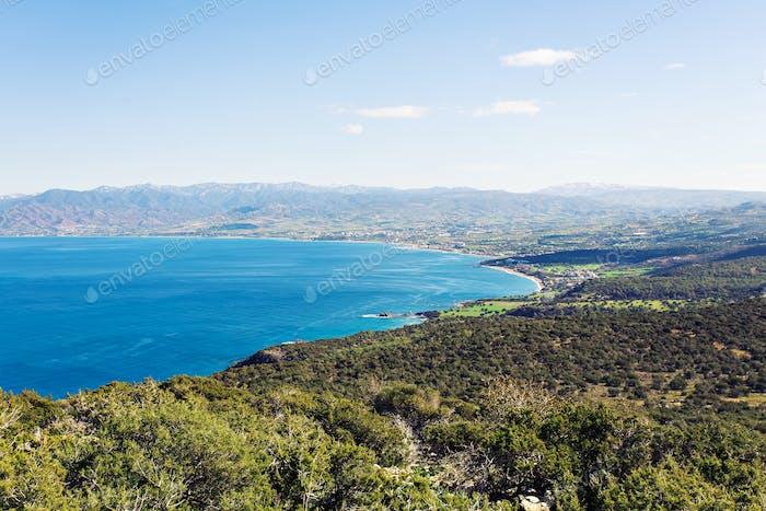 Zypern Latchi Panorama
