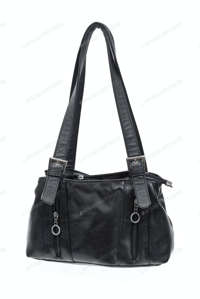 Old black bag