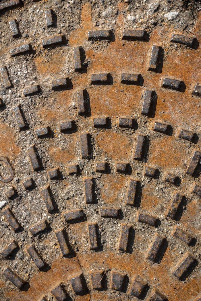 Details of a manhole