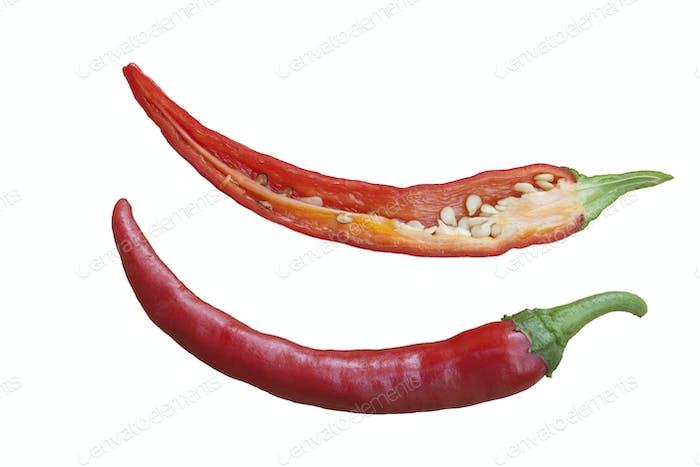 Isolated Chili
