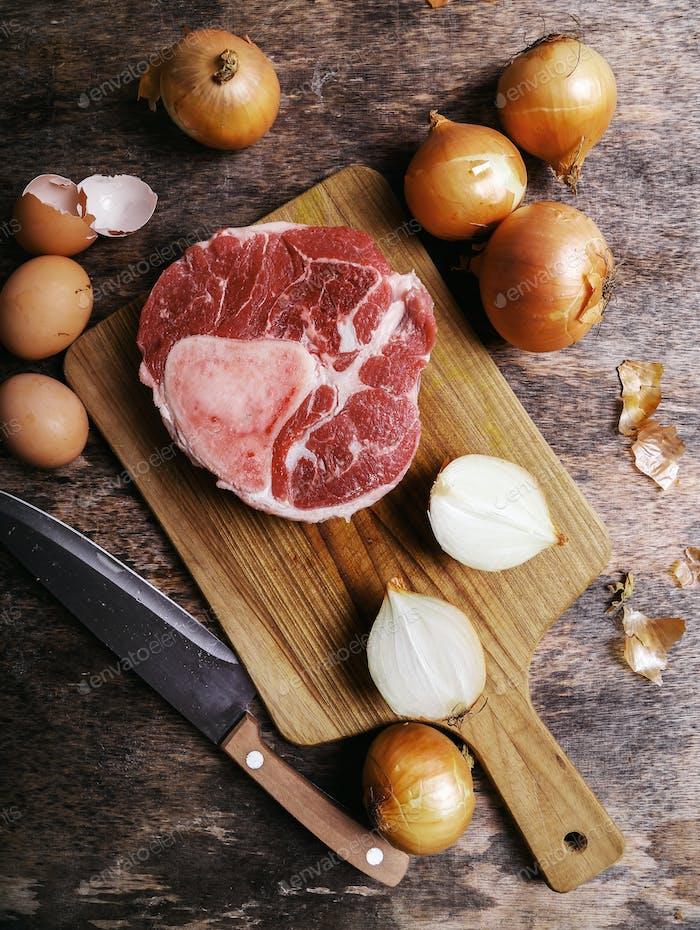 Rebanada de carne