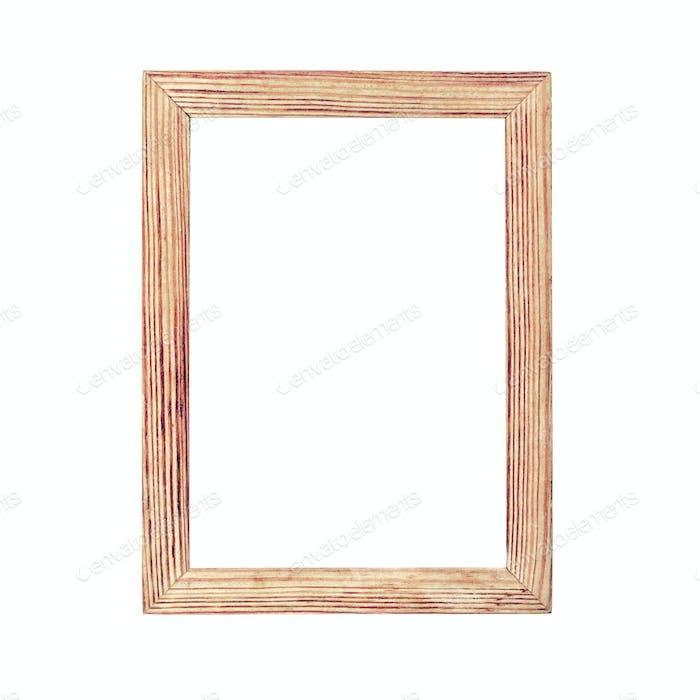 Schlichter Bilderrahmen aus Holz