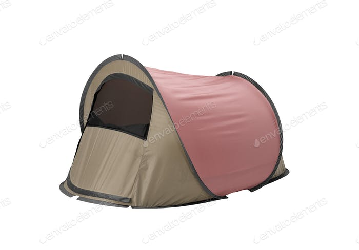 Tent isolated on white background