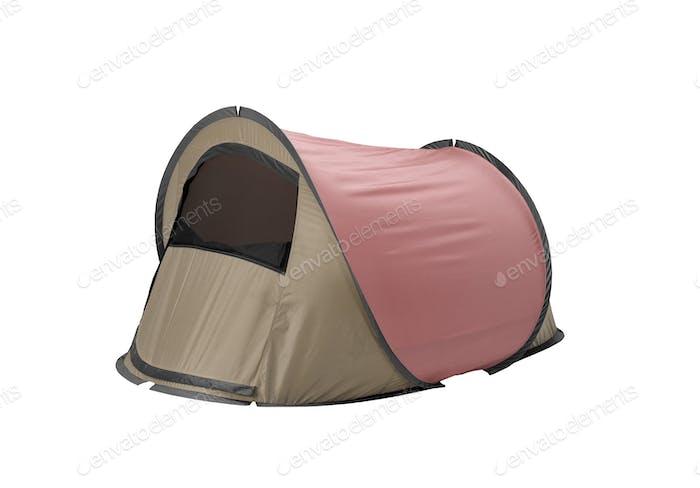 Zelt isoliert auf weißem Hintergrund