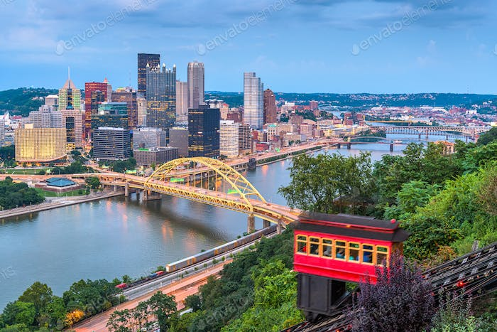 Pittsburgh, Pennsylvania, USA Downtown