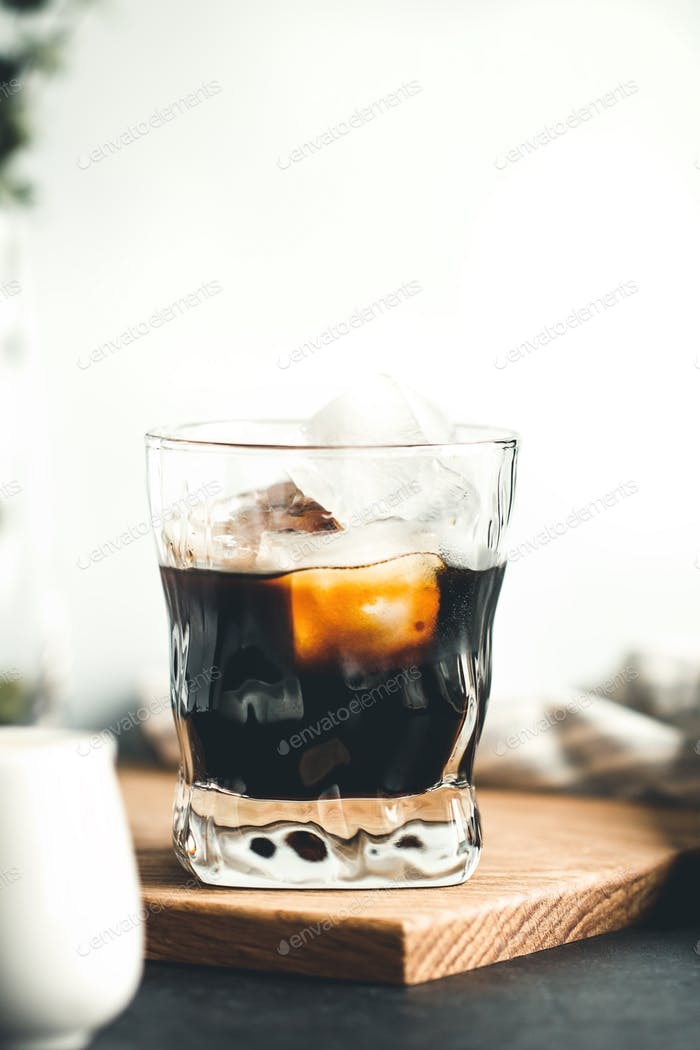 Iced coffee espresso