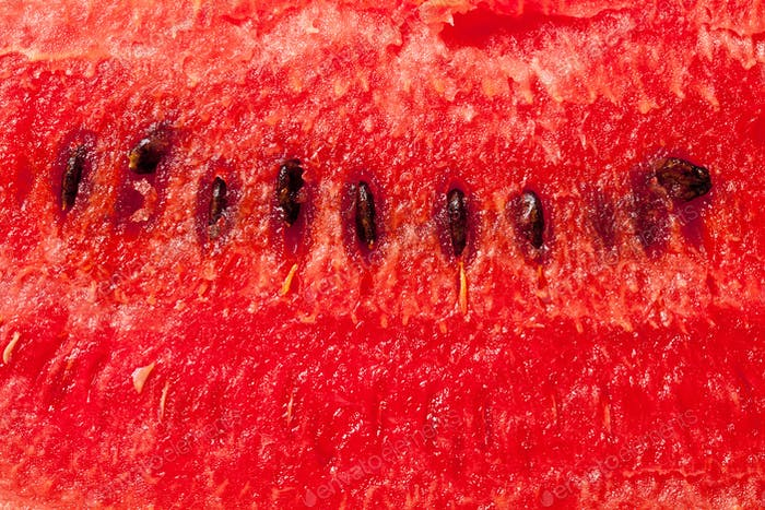 the detail of watermelon