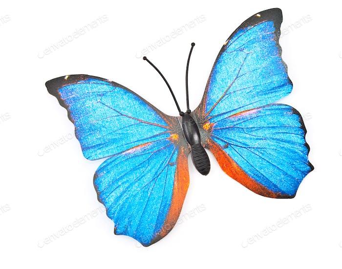 Plastic butterfly