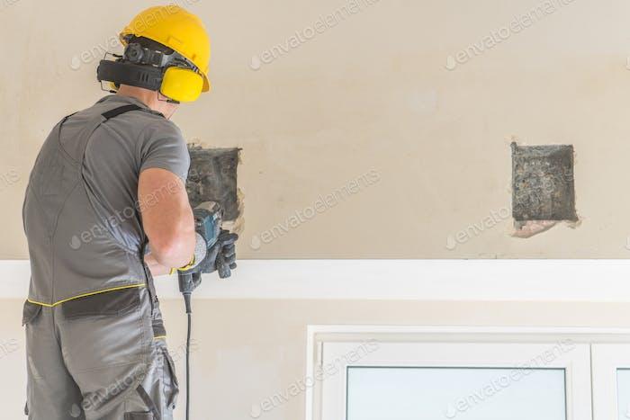 Drilling Contractor Worker