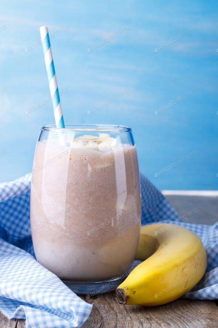 Bananenmilchshake