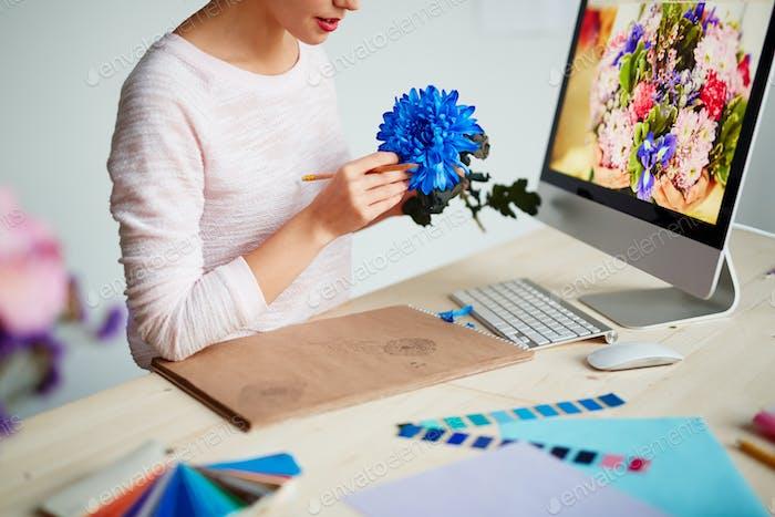 Ilustración floral Creativo.