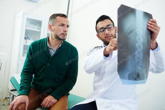 Visiting radiologist