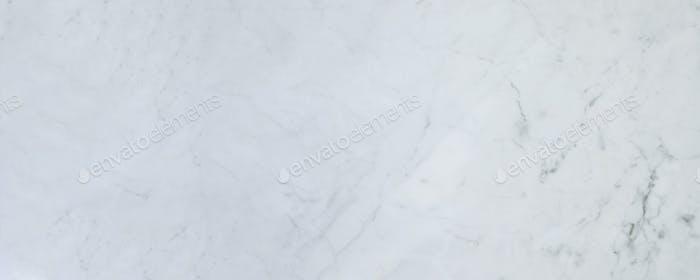 Hintergrund aus weißem Marmor. Banner Bild für Design, Website.