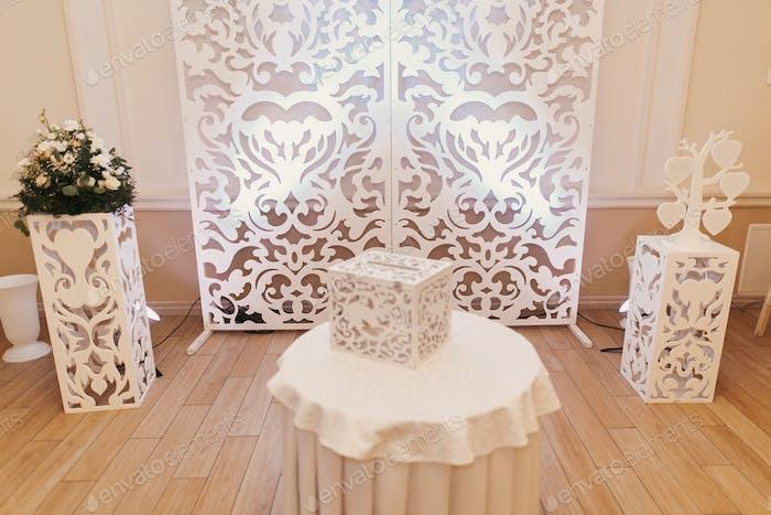 Hochzeits-Foto-Zone