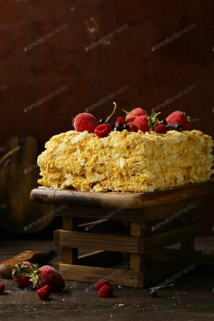Napoleon Layered Cake