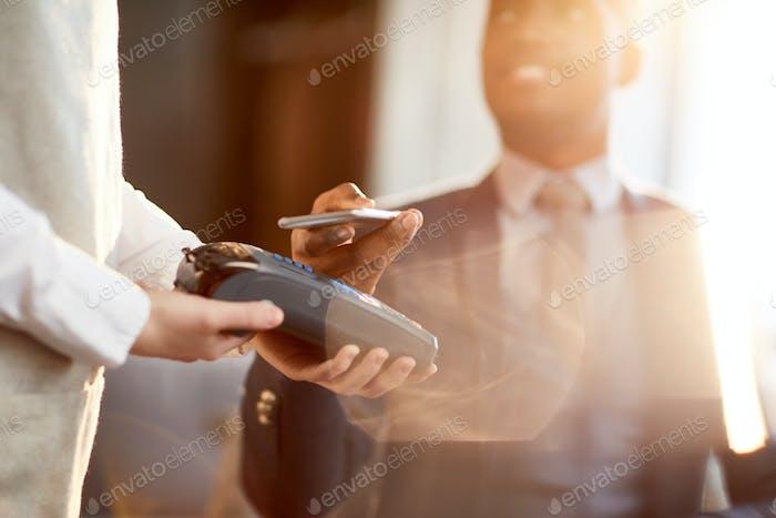 Paying through gadget
