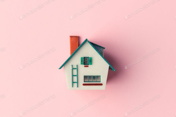 Plastic house model