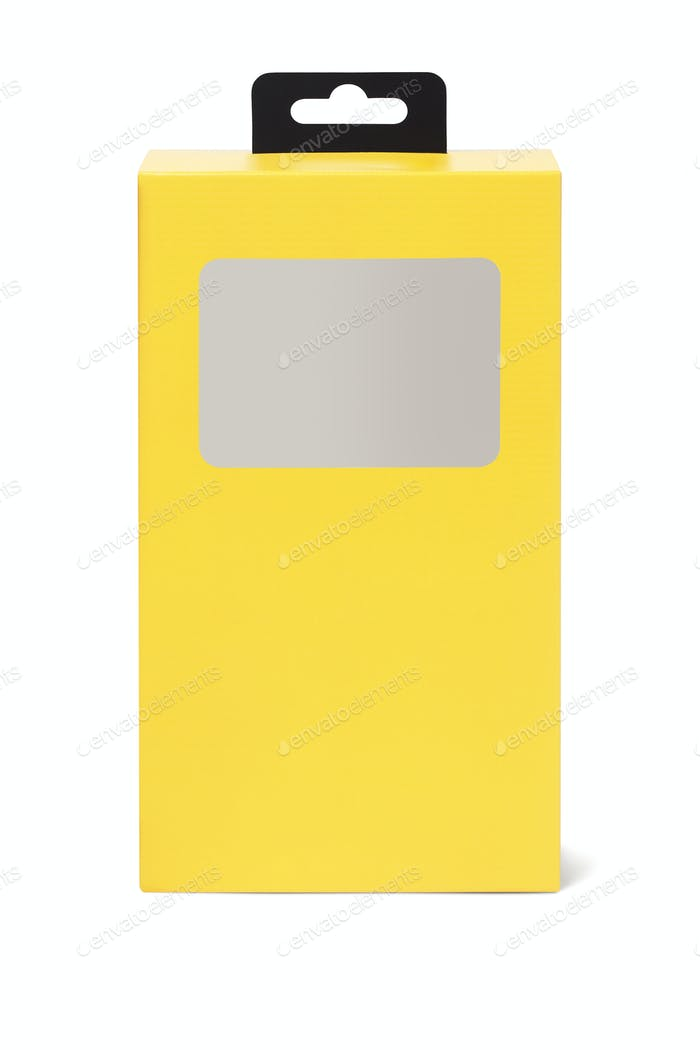 Yellow Product Packaging Box