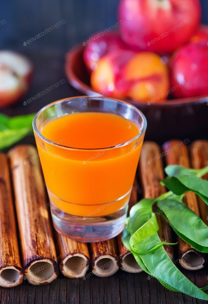 nectarine juice