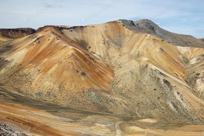 "Colorful mountain views near ""Cerro Milagro"""