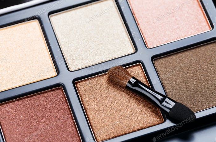 Palette of Professional Colorful Eye Shadows