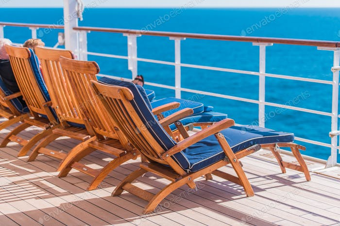 Ocean Liner Cruising