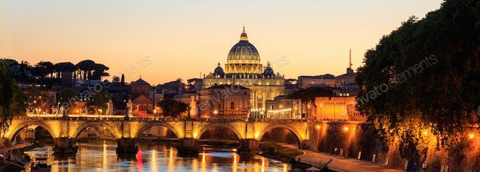 Saint Peters Basilica - Vatican - Rome, Italy