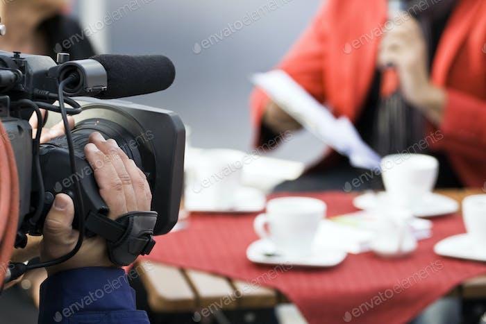 Kamera-Bediener