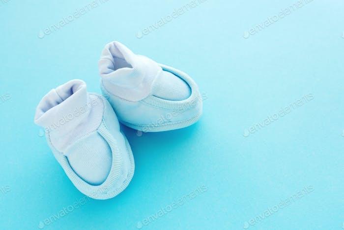 Newborn baby boy cotton shoes