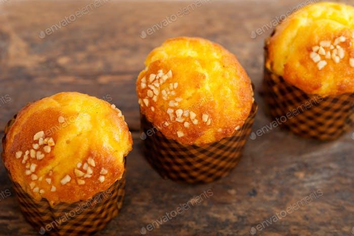 frisch gebackener Muffin