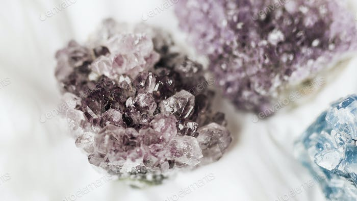 Amethyst healing crystal