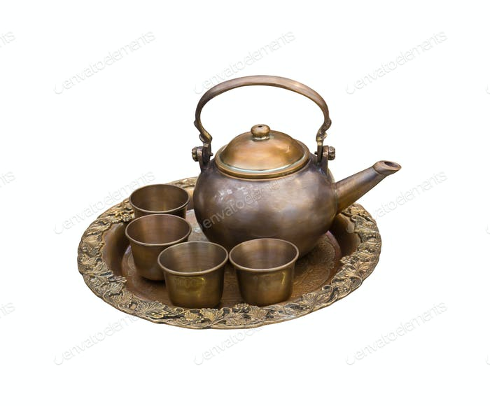 Vintage tea pot set