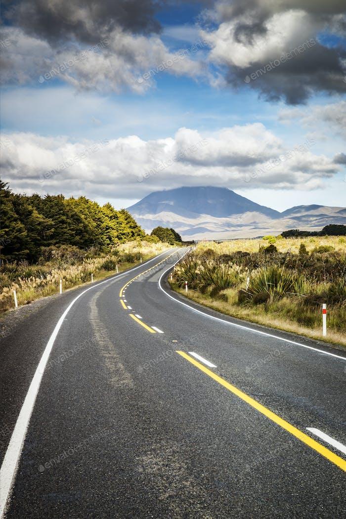 Carretera sinuosa