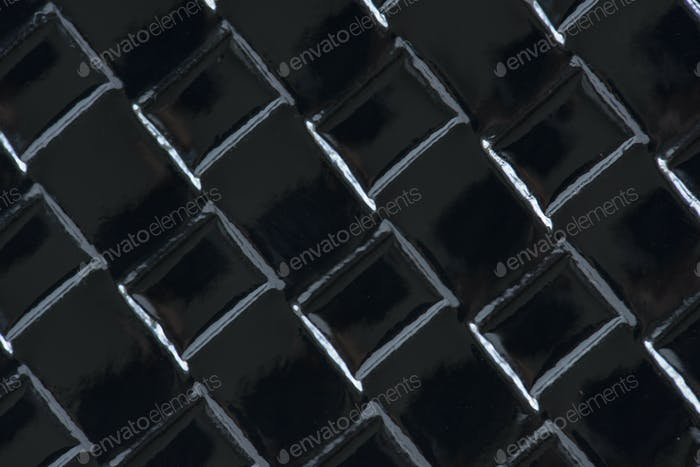 Black fabric closeup