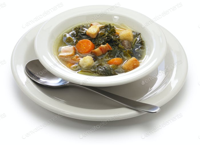 topf likker suppe, südliche küche
