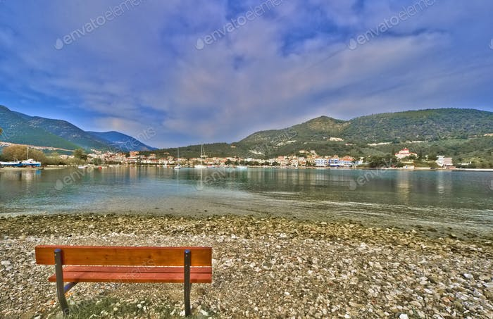 Harbour of Epidaurus in Greece