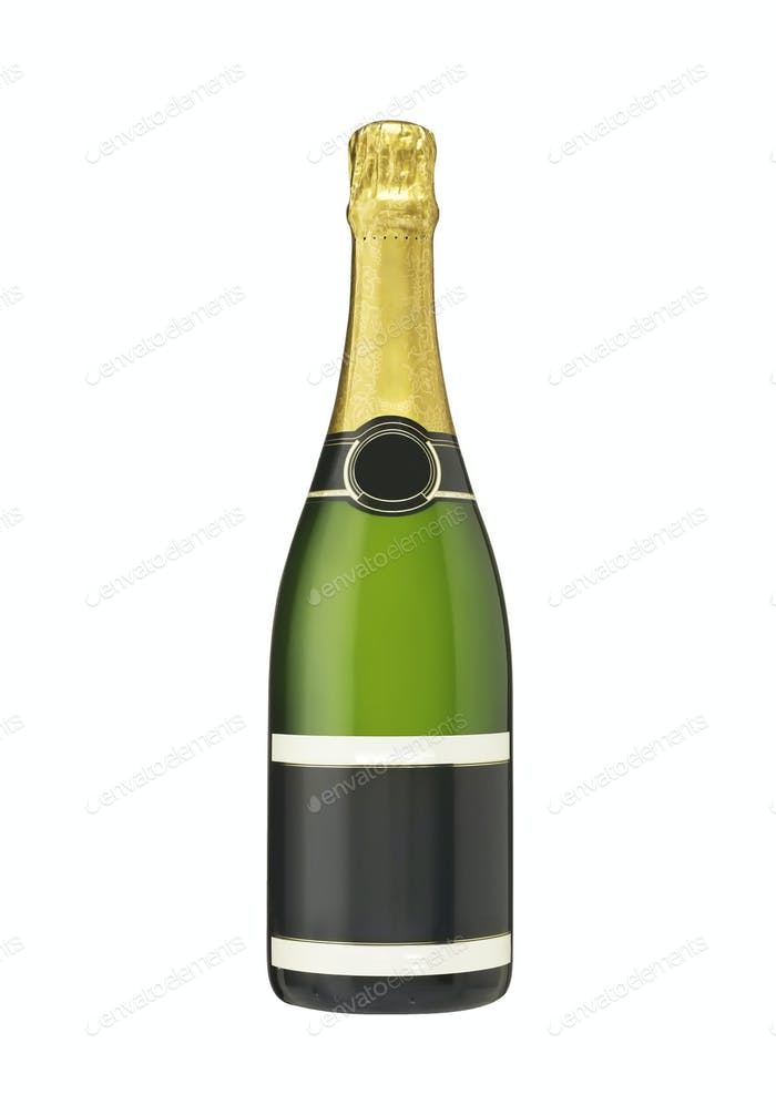 Flasche Champagner