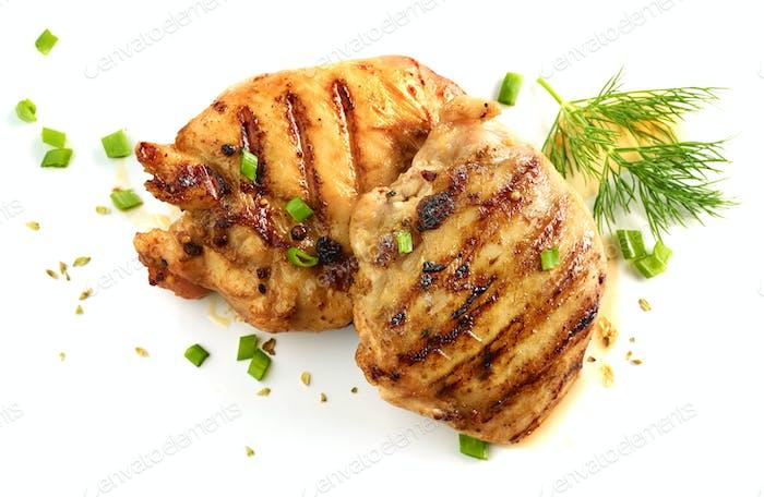 gegrilltes Hühnerfleisch