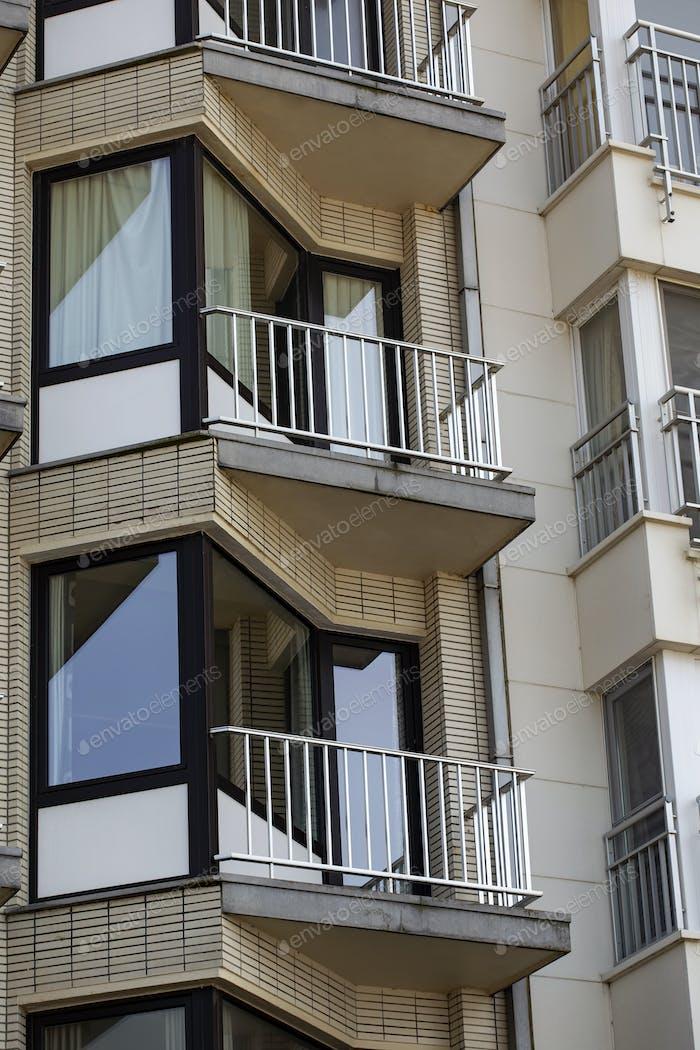 Apartamento moderno balcón en Middelkerke