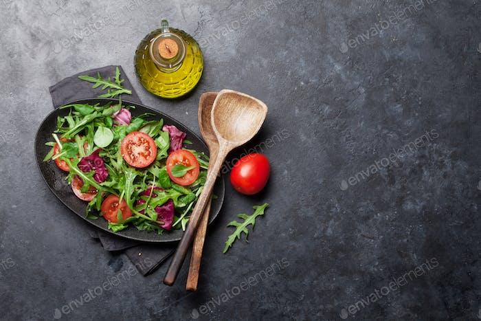 Grüner Salatmix