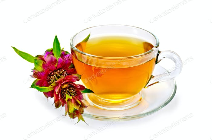 Herbal tea with bergamot