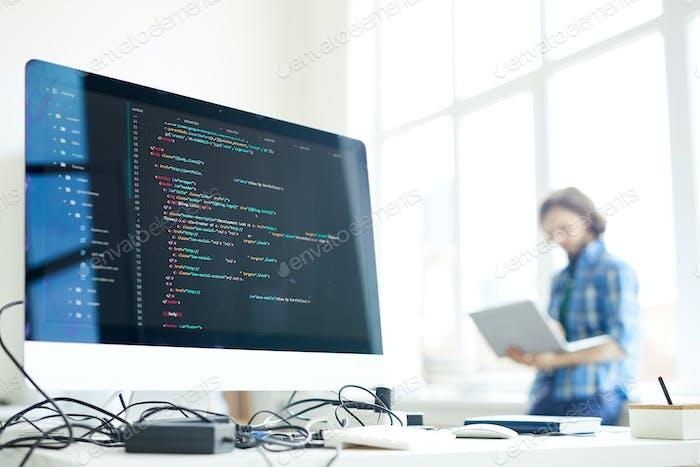 Computer of programmer