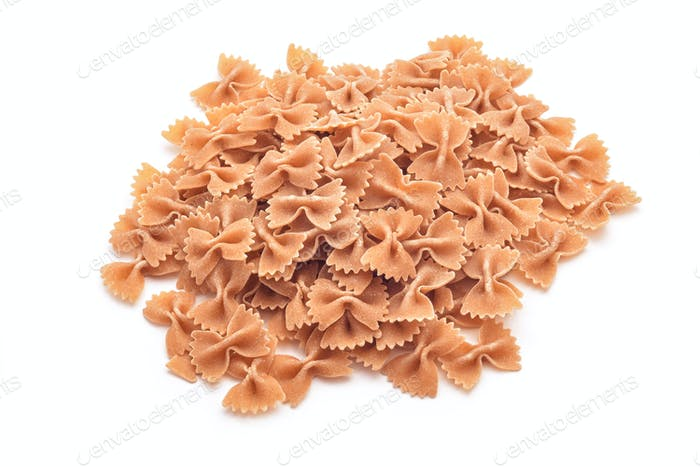 whole wheat farfalle pasta