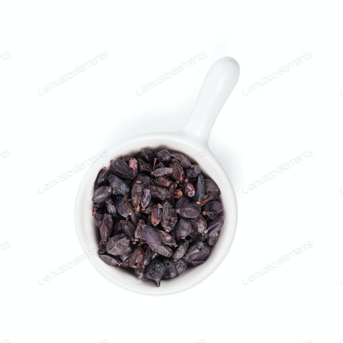 Black dry barberry spice