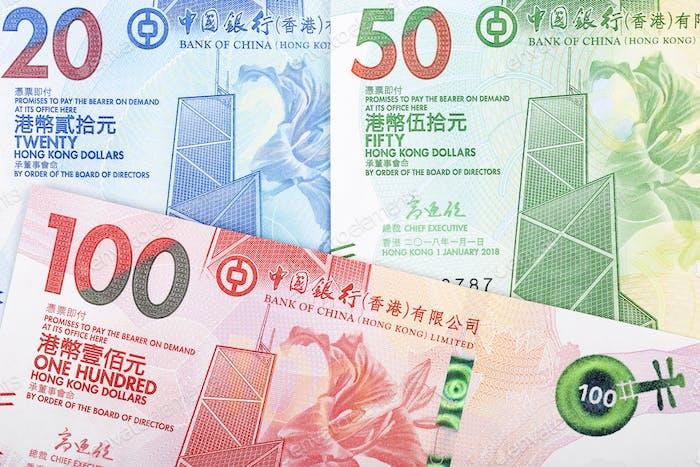Hong Kong dollar a business background