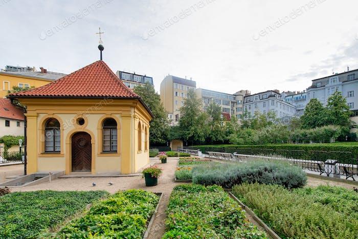 Franciscan Gardens. of Prague