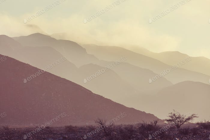 Peru landscapes