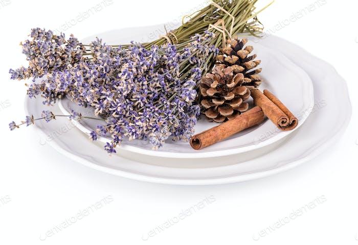 Lavender and cinnamon