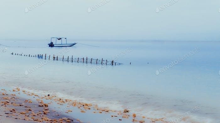 Fisher Boat on Nusa Penida, Bali, Indonesia